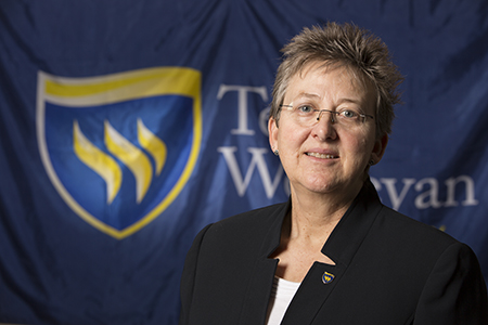 Pamela D. Rast, Ph.D., LAT, ATC, kinesiology department chair and athletic training program director, will be inducted into the Southwest Athletic Trainers' Association (SWATA) Hall of Fame.